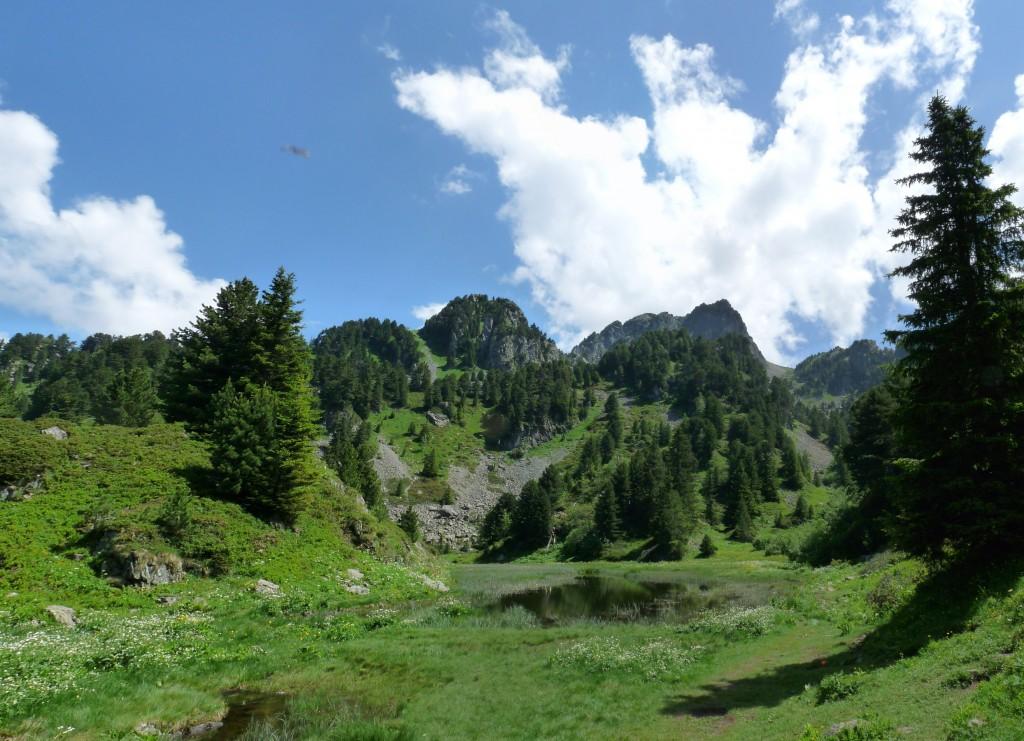 Le lac des Pourettes