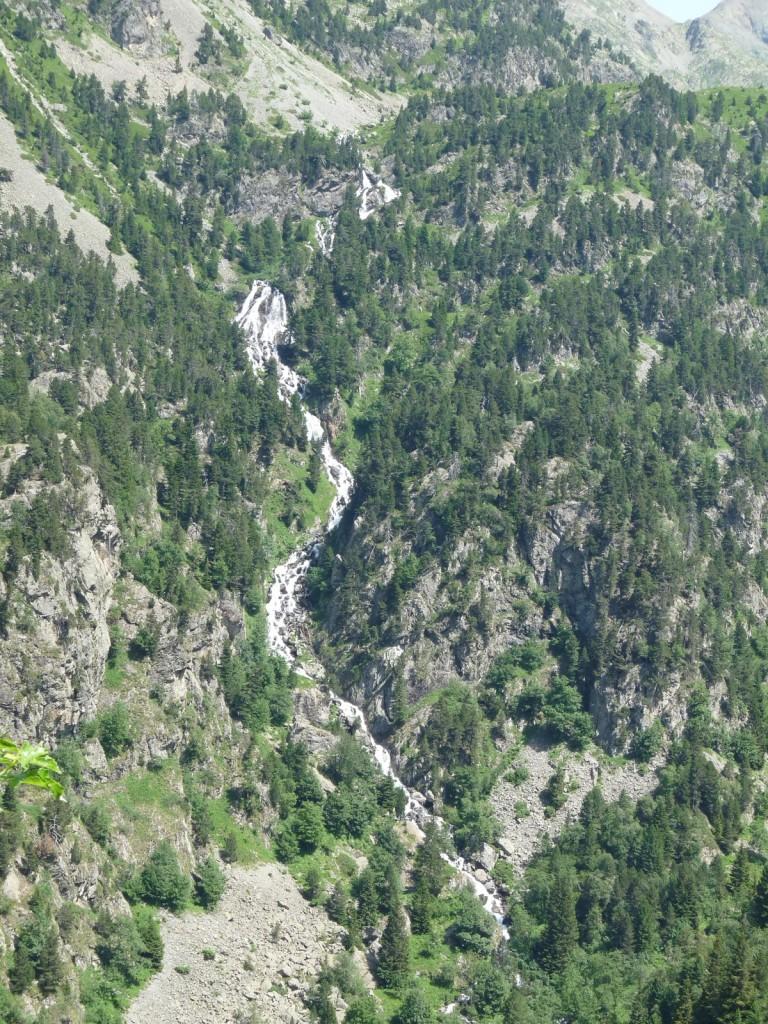 Cascade du Doménon sur les pentes du Chauvin