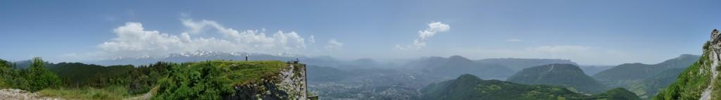 Vue du sommet du Saint-Eynard